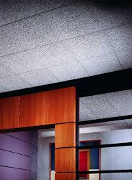 usg glacier basic acoustical commercial ceiling panels durable