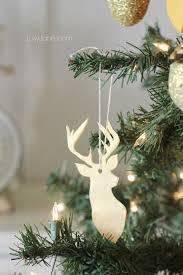 Christmas Decorations Reindeer Head by Easy Clay Deer Head Ornament Lolly Jane