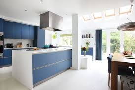 Kitchen Cabinets Modern Design Trend Blue Kitchen Cabinets 30 Ideas To Get You Started