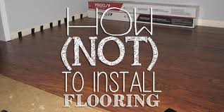 how not to install laminate flooring pergo laminateflooring