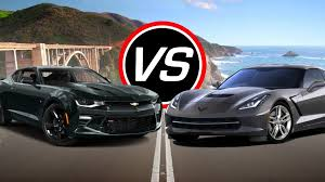camaro zl1 vs corvette 2016 chevy camaro ss vs corvette stingray spec comparison