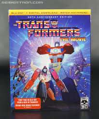 press release transformers the movie 30th anniversary blu ray