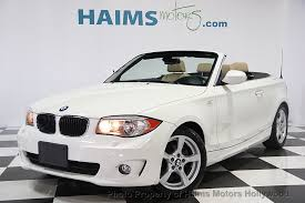 used bmw 1 series convertible 2013 used bmw 1 series 128i at haims motors serving fort