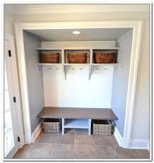 Diy Entryway Entryway Storage Bench Handmade Mudroom Entryway Bench And
