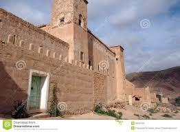 adobe house taliouine taroudant province morocco royalty free