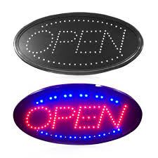 shop open sign lights led open sign advertising light billboard shopping mall bright