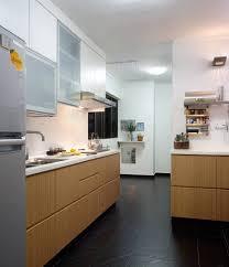 hdb 5 room modern look with wooden furnishing