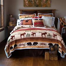 Ultra King Bed Crestwood Pinecone Bedding Collection Cabin Place