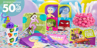 inside out party birthday favors party city image inspiration of cake and