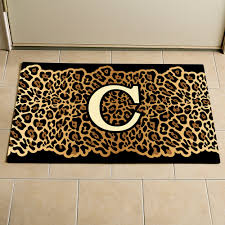 personalized leopard print doormat walmart com