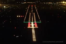 Approach Lighting System Bcn 25r With Its 1 2 Offset Approach Ramp The Approach Ra U2026 Flickr