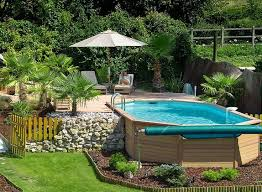 landscaping around above ground pool beautiful home design ideas