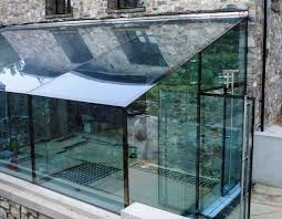 glass box architecture corntown glamorgan architectural glass clear living