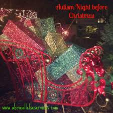 above all else inc u2013 autism night before christmas
