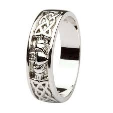 the gents wedding band wedding ring gents with celtic knotwork