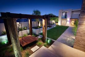 stunning outdoor living area bicton house in perth australia