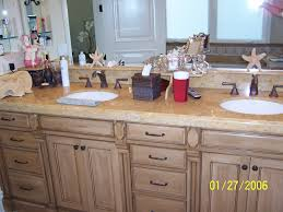 bathroom cabinets master bathroom cabinet refinish before after