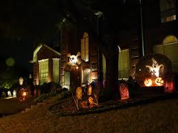 Awesome Halloween Decorations Scary Halloween Garden Decor Scary Car Carved Pumpkin Orange Car