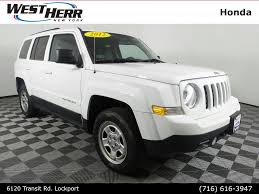 silver jeep patriot with black rims jeep patriot in buffalo ny west herr auto group