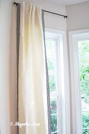 Greek Key Pattern Curtains Diy Greek Key Trim Curtains 11 Magnolia Lane