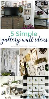 5 simple gallery wall ideas don u0027t be afraid it u0027s easy