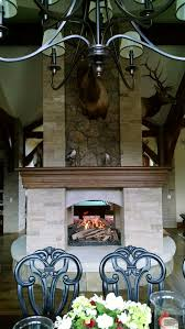 custom 4 sided fireplaces mason lite by masonry fireplace industries