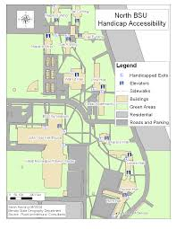 handicap accessibility maps disability services bemidji state