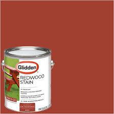 glidden redwood stain exterior 1 gallon walmart com