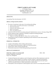 Sample Resume Format For Accounting Staff by Commercial Project Manager Cover Letter