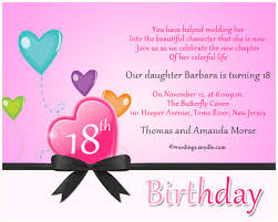 what to write on an 18th birthday card 18th birthday