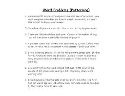 grade math word problems on math problems worksheets for 6th