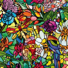 c fix tulia floral multicolour self adhesive film l 2m w 45cm room