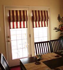 Patio Door Internal Blinds Appealing Roman Shades For French Patio Doors And Blinds For