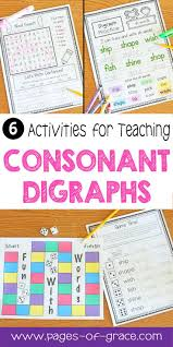 Digraphs Worksheets 62 Best Digraph Images On Pinterest Guided Reading Teaching