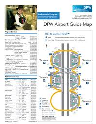 Dallas Fort Worth Area Map by Dallas Fort Worth International Airport Maplets
