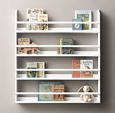 Nursery Wall Bookshelf Wall Storage U0026 Shelving Rh Baby U0026 Child