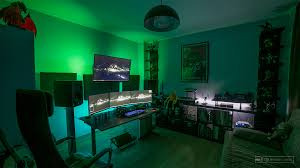 the studio gaming setup pc gaming setup and game rooms