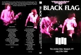 Depression Black Flag Black Flag Metallicide Live Dvd Concerts