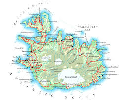 Iceland Map Location Index Of Country Europe Iceland Maps