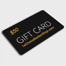 electronic gift cards electronic gift card 1st choice barber shop