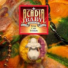 mardi gras trinkets acadia baby king cake trinkets frozen mardi gras