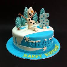 fondant 3d disney frozen olaf fondant cakes jb kl penang