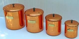 copper canister set kitchen copper kitchen canisters set kitchen canister sets target