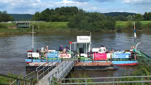 Fahrrad Bad Oeynhausen Fähre Amanda Bad Oeynhausen Grosser Weserbogen Fähre Amanda