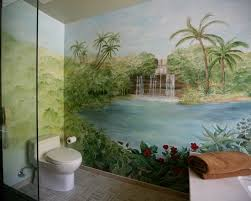 bathroom mural ideas 417 best bathrooms and powder rooms images on