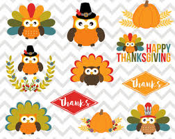 thanksgiving owl etsy