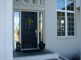 church office black front doors door color meaning inside painted