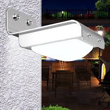 solar powered outdoor motion lights gzyf 16 leds solar powered motion sensor garden security light