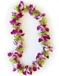 hawaiian leis hawaiian fresh single strand orchid