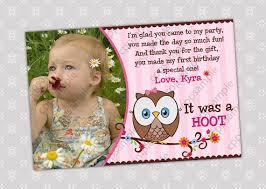 card invitation design ideas 1st birthday photo thank you cards